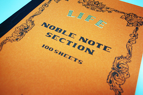 LIFE NOBLE NOTE SECTION A5