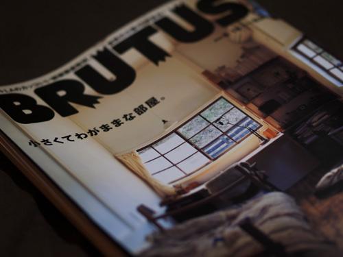 BRUTUS 2009.05.15