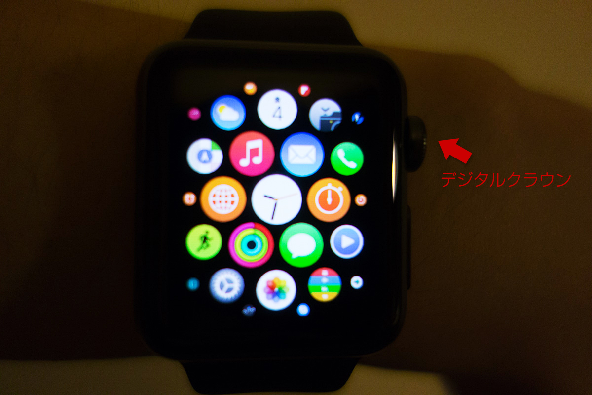 Applewatch digitalcrown
