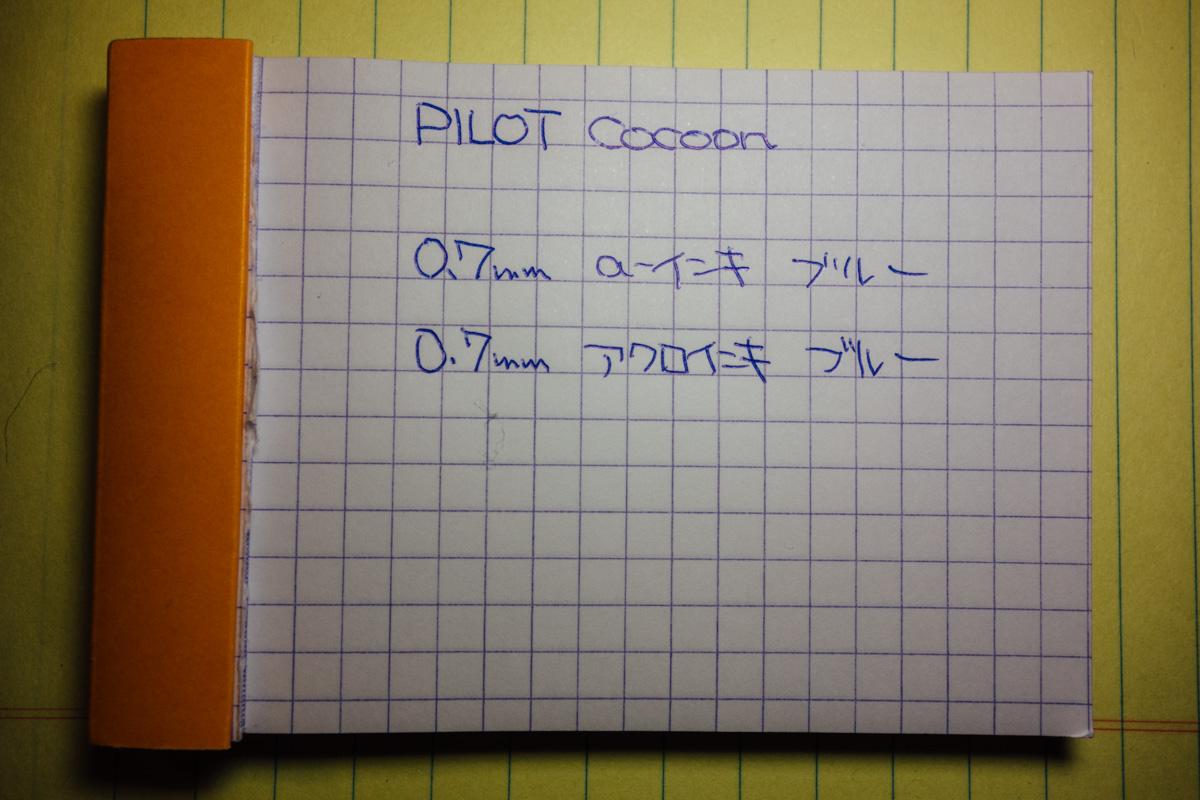 Pilot cocoon 004