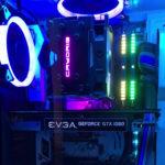 キラキラ光る自作PC