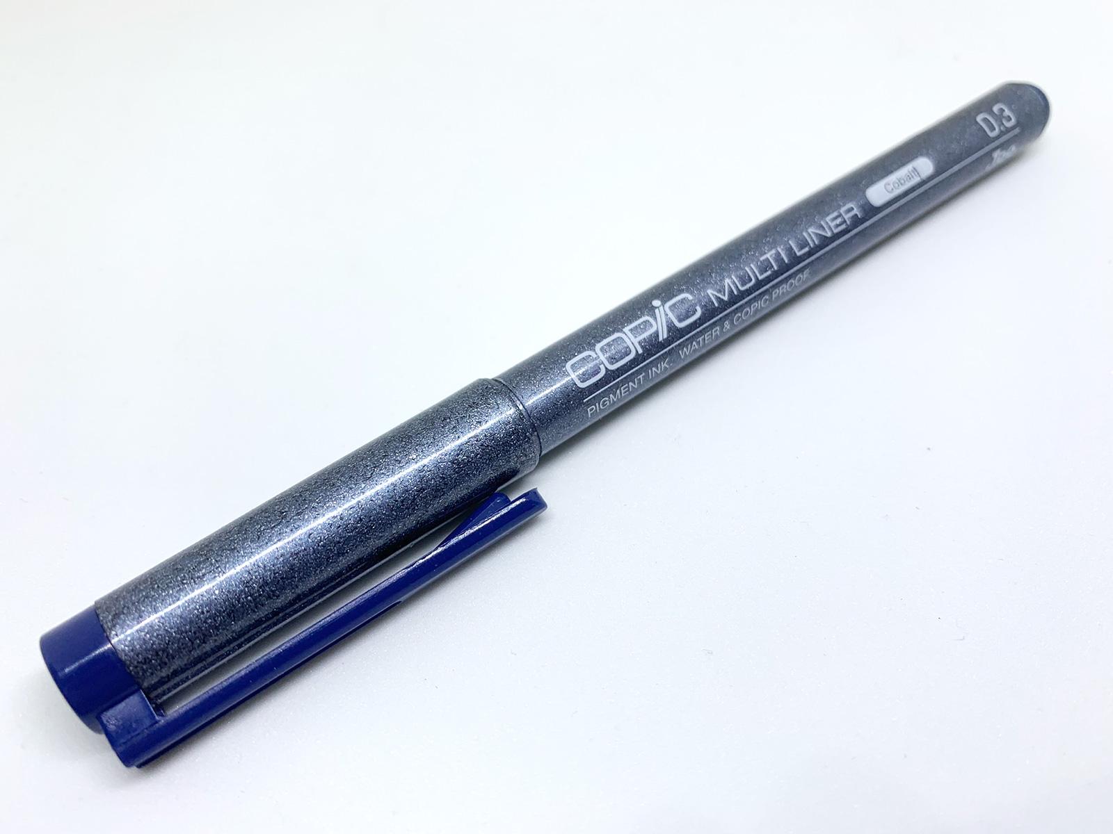 コピックマルチライナー 0.3mm コバルト