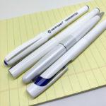 白軸のボールペン
