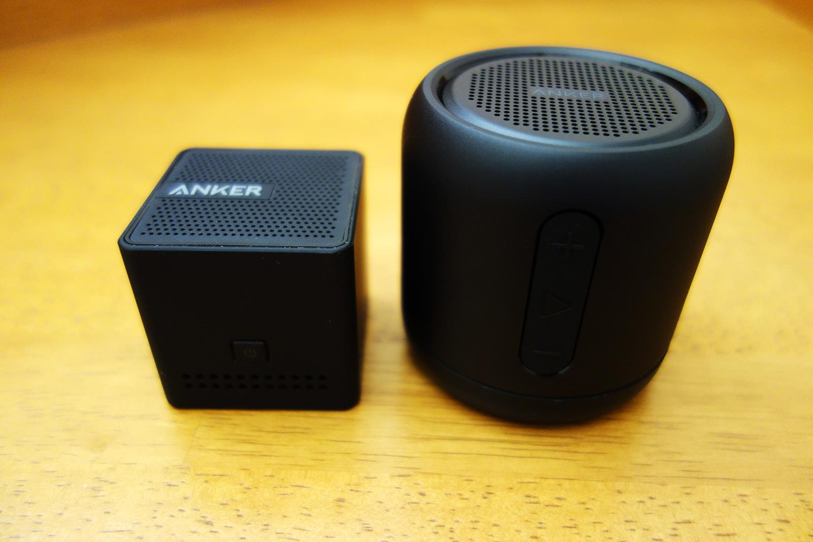 Anker SoundCore Miniとnano比較