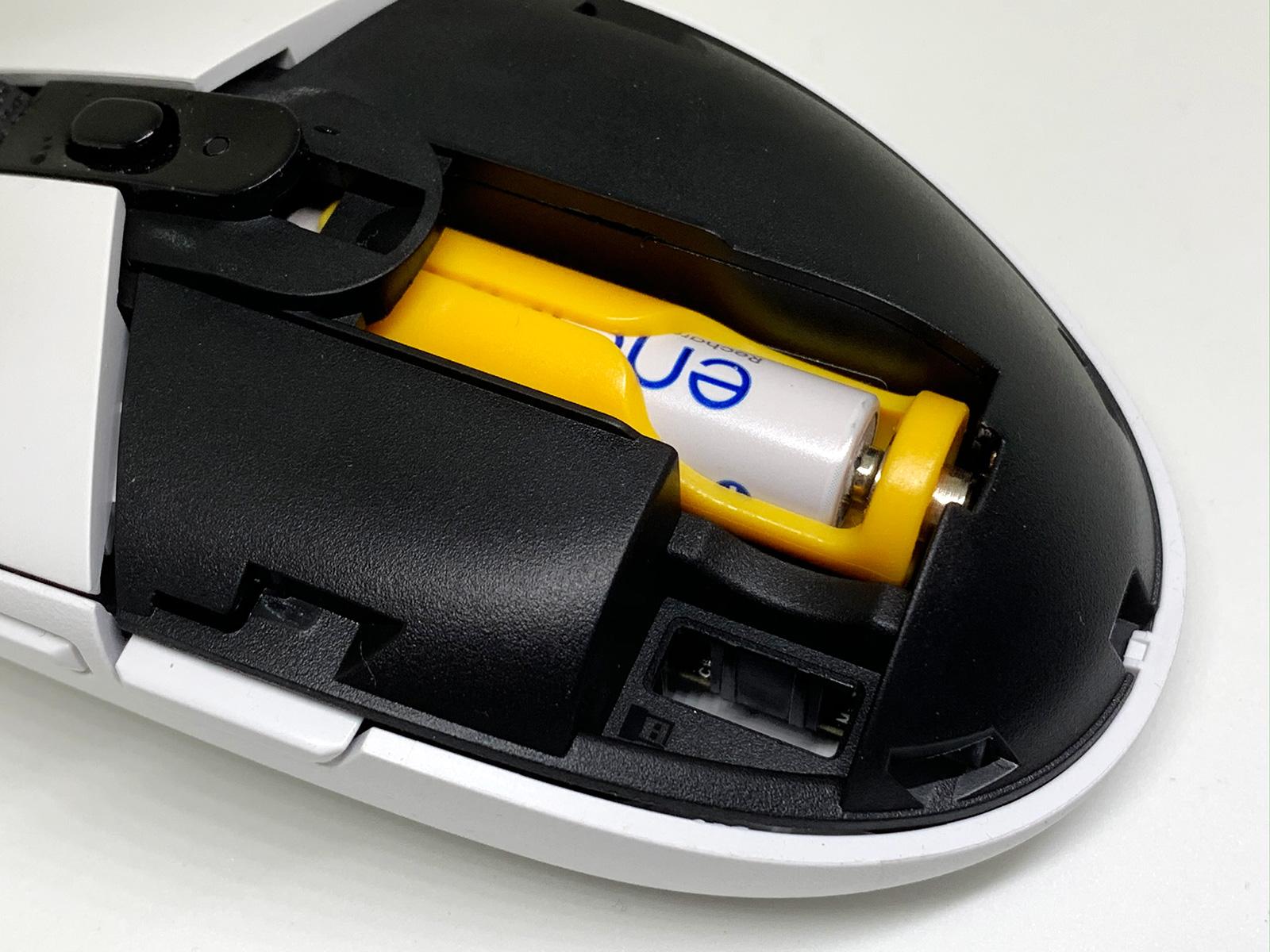 単4電池にアダプター付けてg304に装着