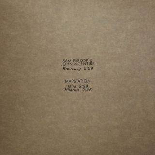 sam prekop & John McEntire - Tour EP