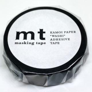 カモ井 マスキングテープ マットブラック