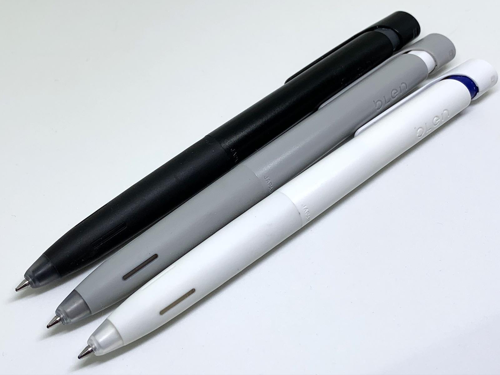 ゼブラ「ブレン」黒軸、グレー軸、白軸