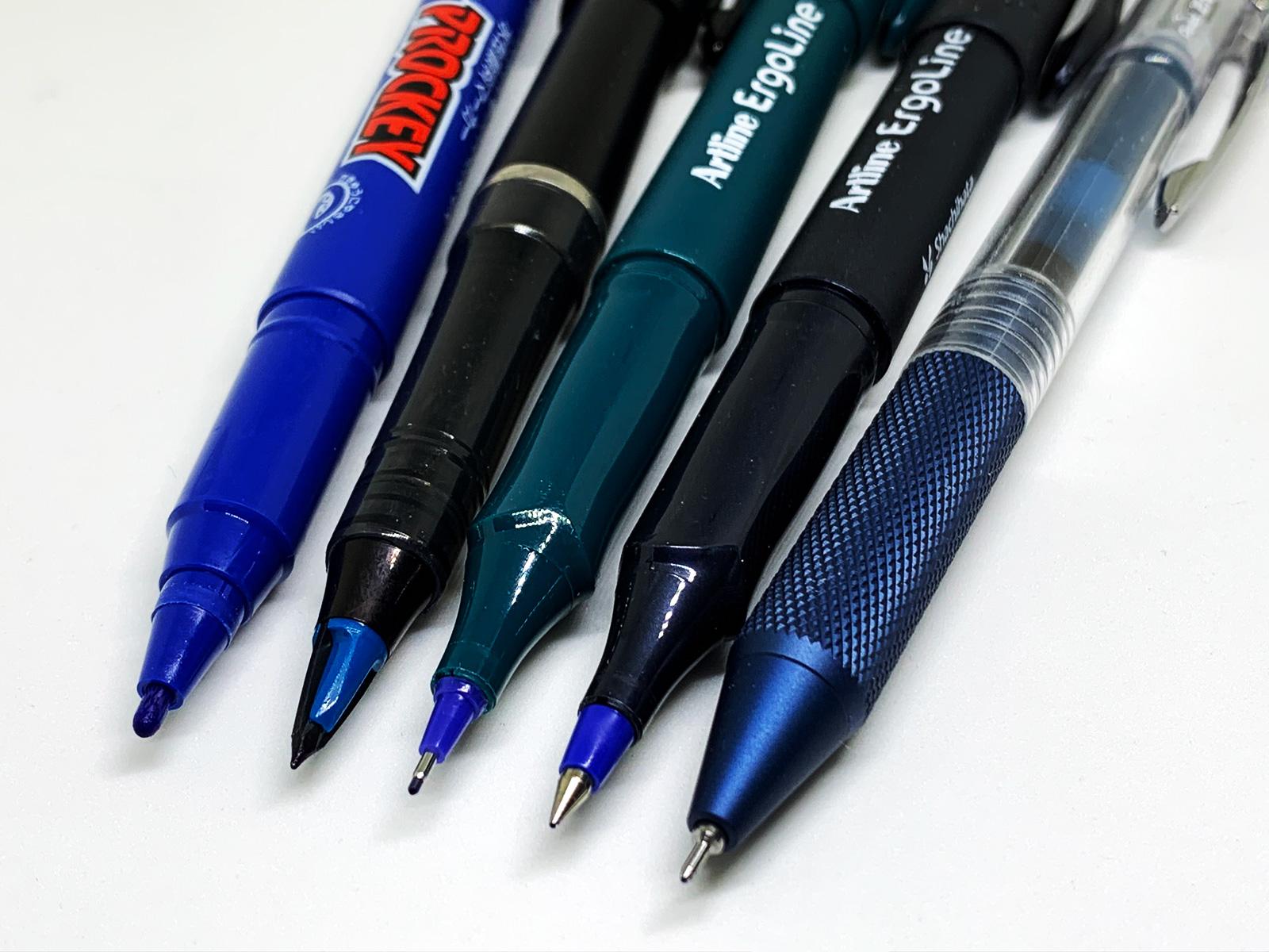 最近の普段使いの青ペン ペン先 2020年5月版