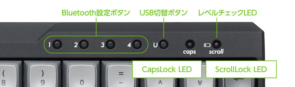 Bluetooth操作を専用ボタンに集約