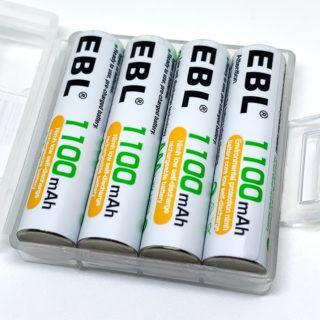 ELBの単4充電式ニッケル水素電池
