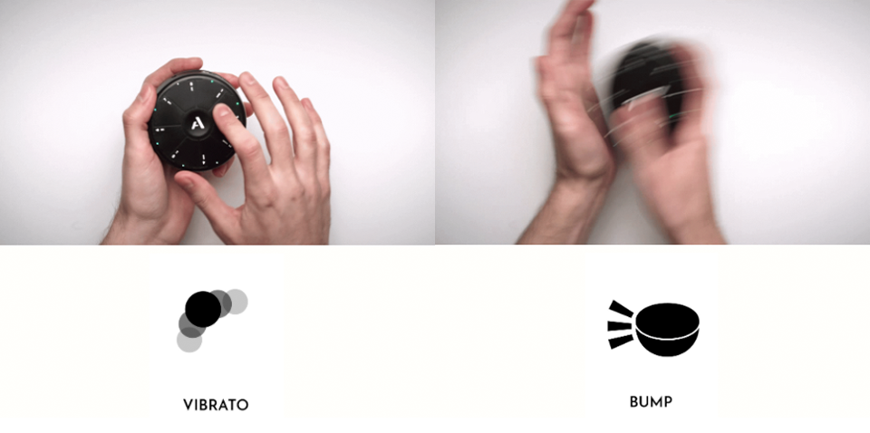 vibrato & bump