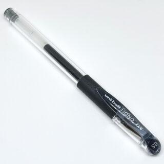 「ユニボール シグノ」0.5mm 黒